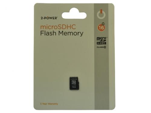 Card MicroSDHC 2-Power 16GB Clasa 10