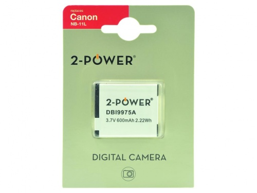 Inlocuitor Baterie Aparat Foto pentru Canon NB-11L