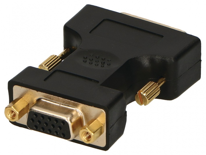 Adaptor DVI-A (M) to VGA (F)