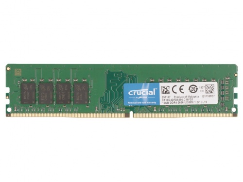 Memorie Crucial 16GB DDR4 2666MHz DIMM