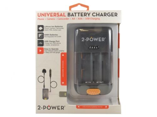 Incarcator Universal Baterie Aparat Foto (Retail) c/Cablu Alimentare EU