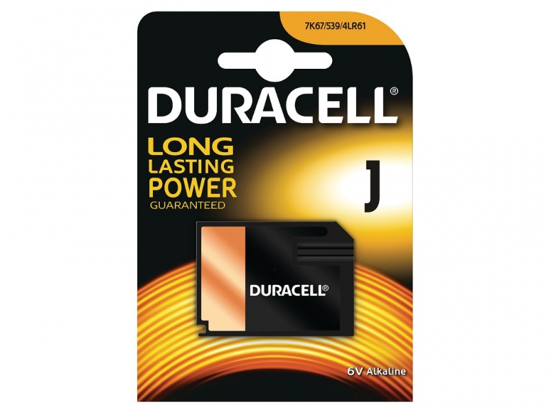 Baterie de Securitate Duracell J Cell 6V pentru Uz General