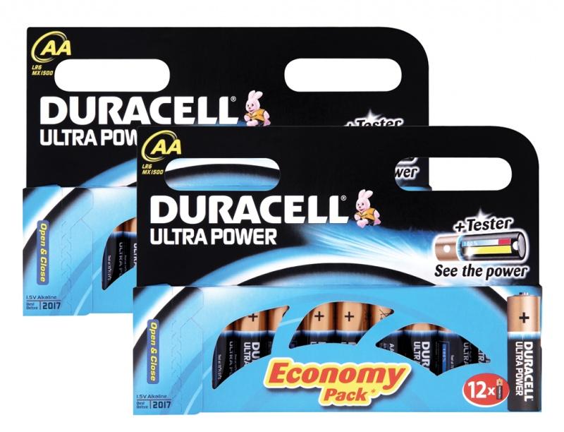 Baterie Duracell Ultra AA Pachet 24 2 X MX1500B12