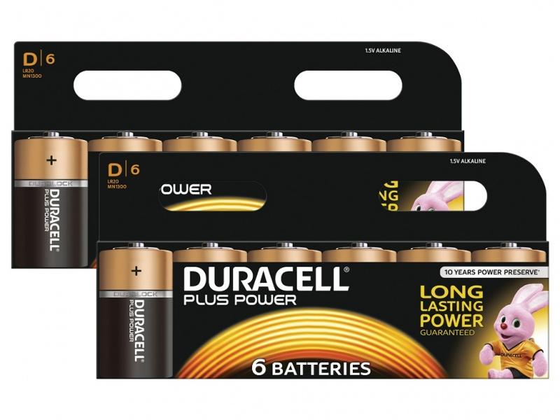 Baterie Duracell Plus Power Marime D Pachet 2 de 6
