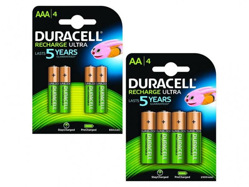 Baterie Duracell PreCharged AA/AAA Pachet de 4