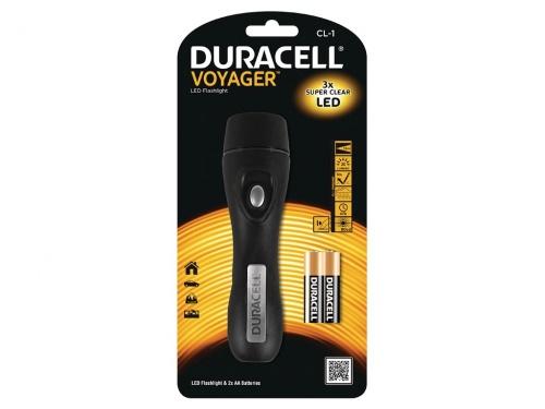 Lanterna Duracell 3 LED Voyager
