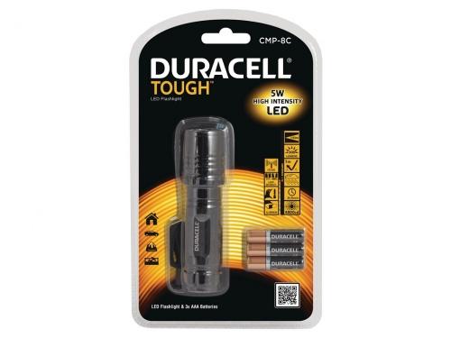 Lanterna LED Duracell Tough - Baterii Incluse