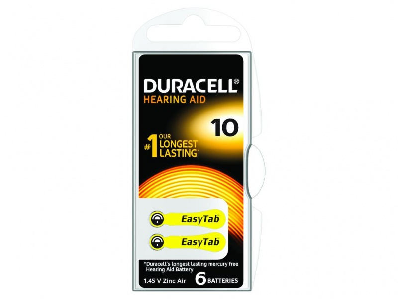 Baterie Duracell pentru Aparate Auditive 1.4V