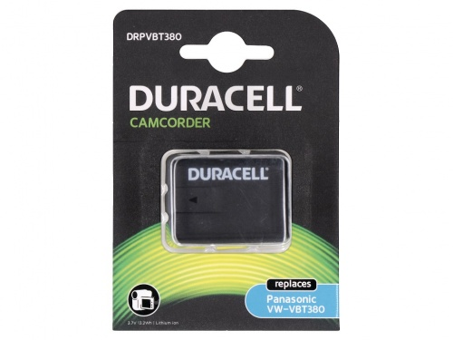 Baterie Duracell Camera Video Inlocuieste Panasonic VW-VBT380