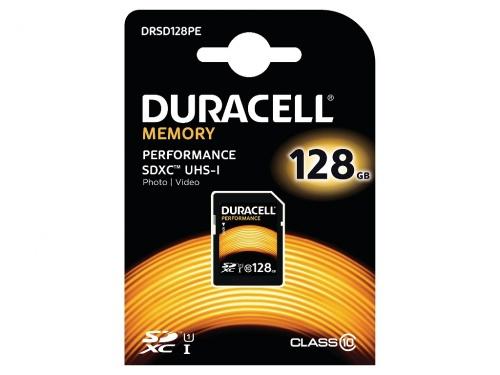 Card SDHC Duracell 128GB SDXC Clasa 10 UHS-1