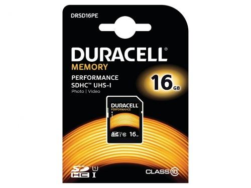Card SDHC Duracell 16GB SDHC Clasa 10 UHS-1