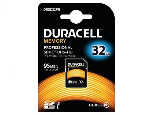 Card SDHC Duracell 32GB SDHC Clasa 10 UHS-3
