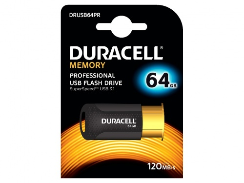 Memorie USB 3.1 Duracell 64GB Retractabila (100/5)