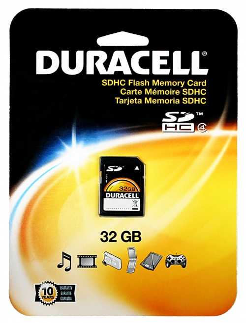 Card SD Duracell 32GB