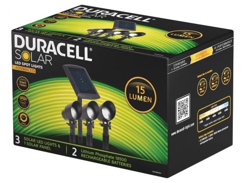Lumini Spot Duracell LED 15 Lumeni (Pachet de 3)