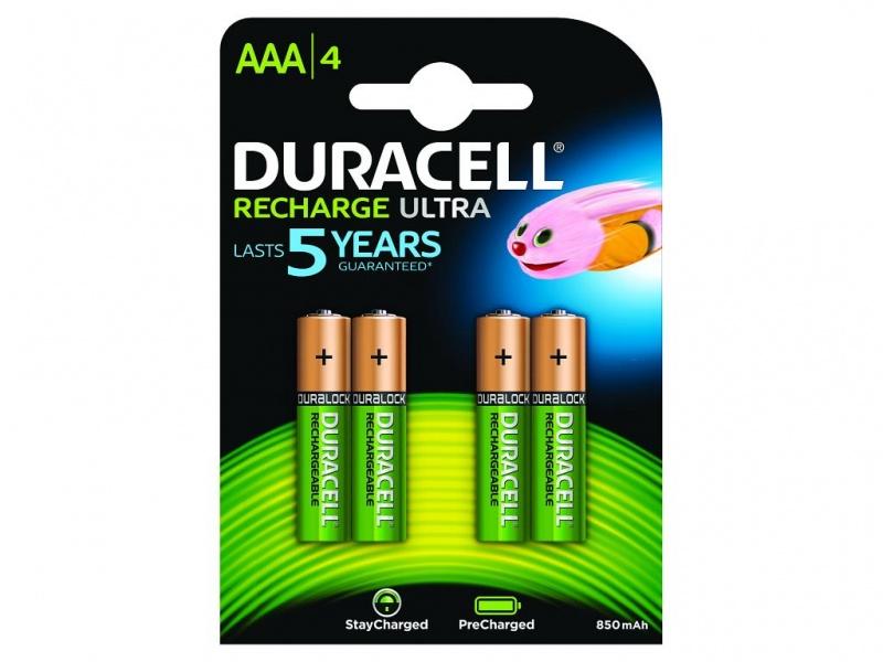 Baterie Duracell PreCharged AAA (Pachet de 4)