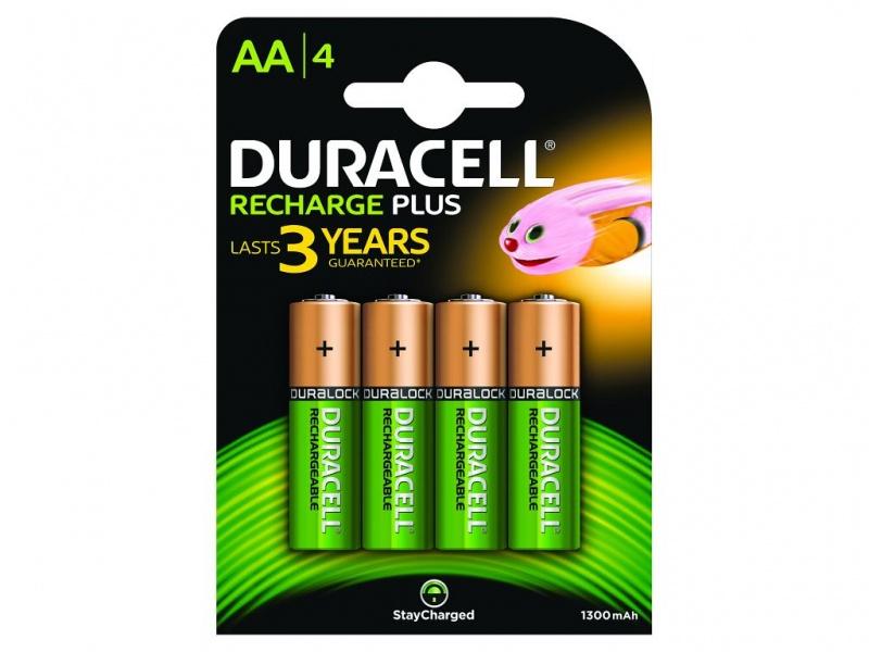 Baterie Duracell StayCharged AA (Pachet de 4)