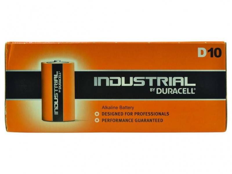Baterie Duracell Industrial Marime D (Pachet de 10)