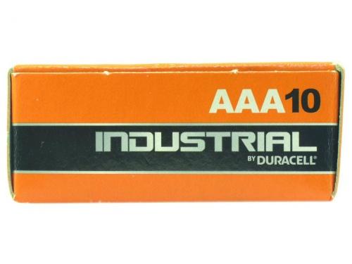 Baterie Duracell Industrial AAA (Pachet de 10)