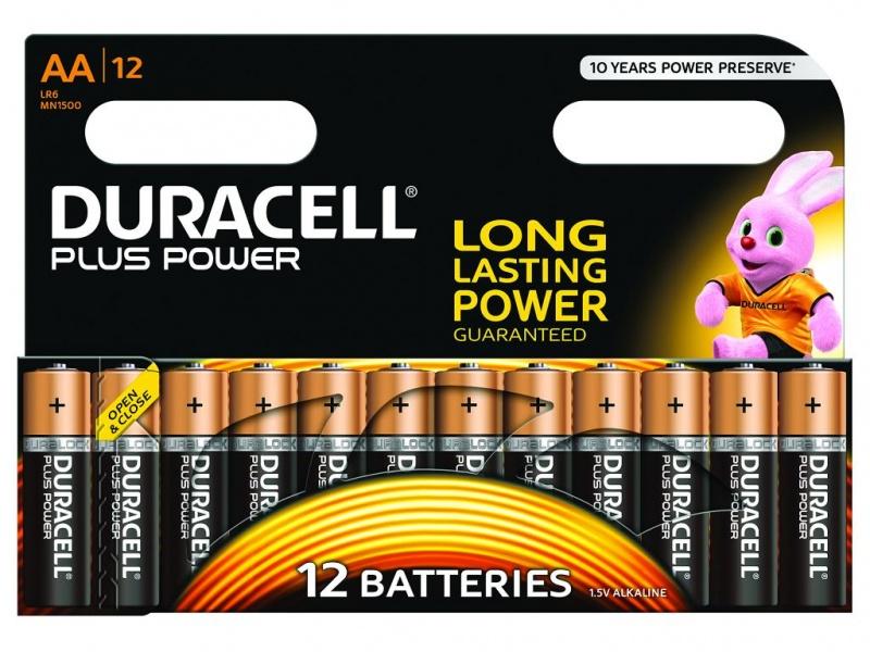 Baterie Duracell Plus Power AA 1 Pachet de 2