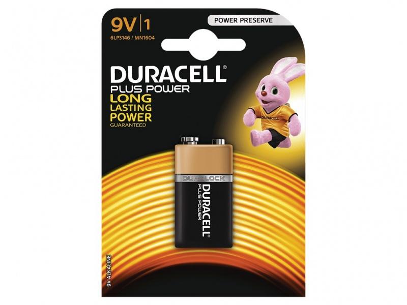 Baterie Duracell Plus Power 9V Pachet de 1