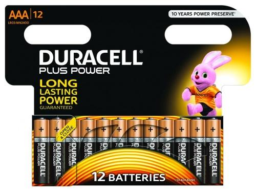 Baterie Duracell Plus Power AAA 1 Pachet de 12