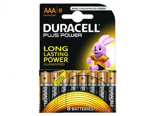 Baterie Duracell Plus Power AAA Pachet de 8