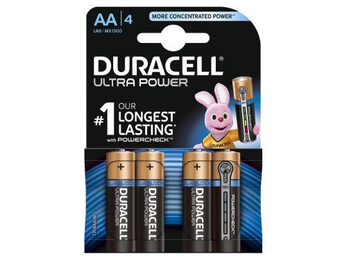 Baterie Duracell Ultra Power AA Pachet de 4