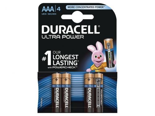 Baterie Duracell Ultra Power AAA Pachet de 4