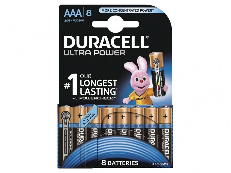 Baterie Duracell Ultra Power AAA Pachet de 8