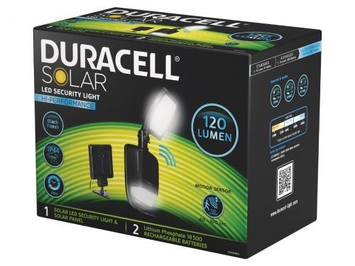 Lampa de Veghe Duracell LED Solara 120 Lumeni