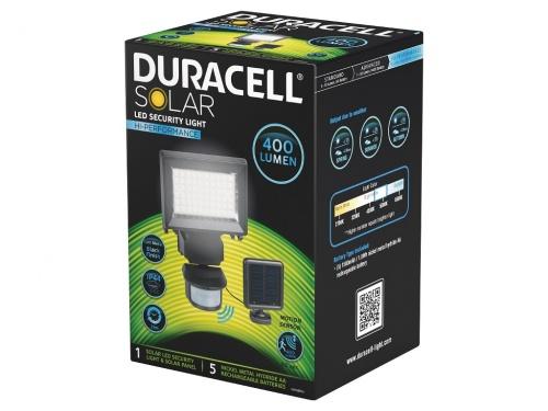 Lampa de Veghe Duracell LED Solara 400 Lumeni