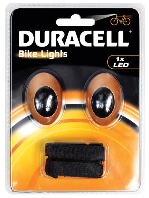 Set Lumini LED Duracell Bicicleta Fata & Spate Bunny Eyes