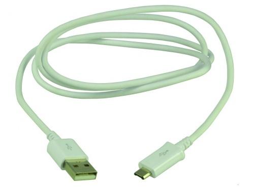 Cablu MicroUSB Date Samsung Alb