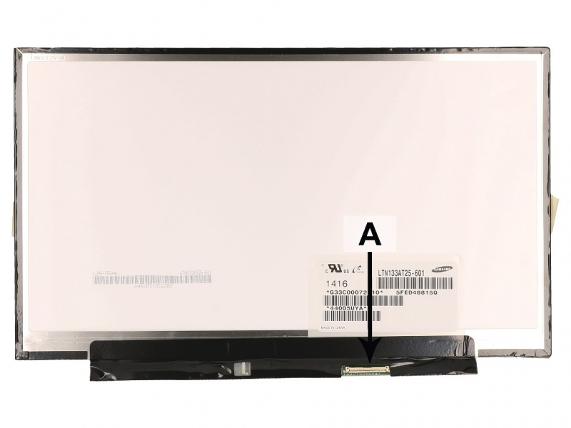 Ecran LCD 13.3 WXGA HD 1366x768 LED