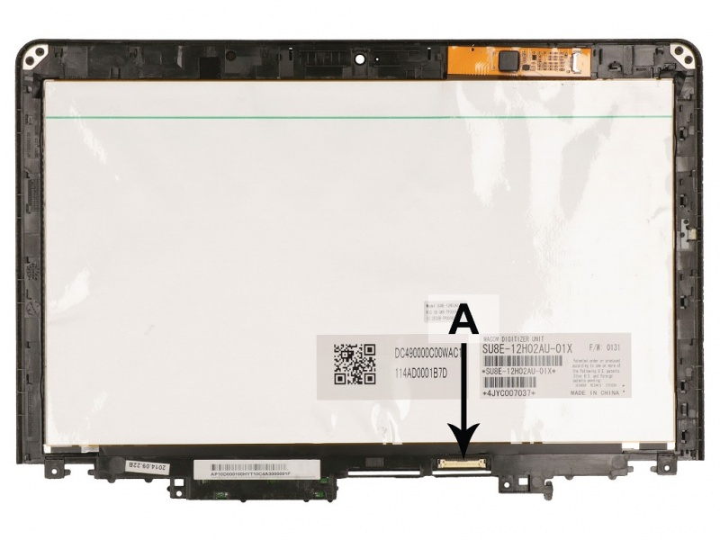 Ansamblu 1/2 Ecran Touch Thinkpad Yoga 20CO