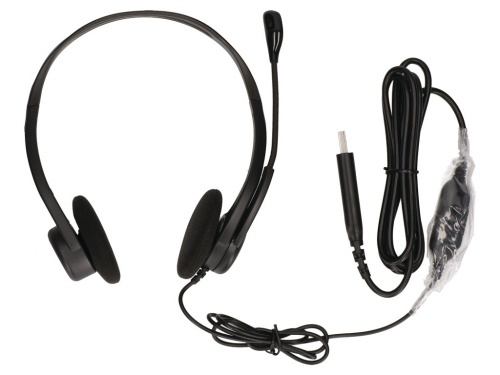 Casti PC Logitech Headset 960 Stereo USB