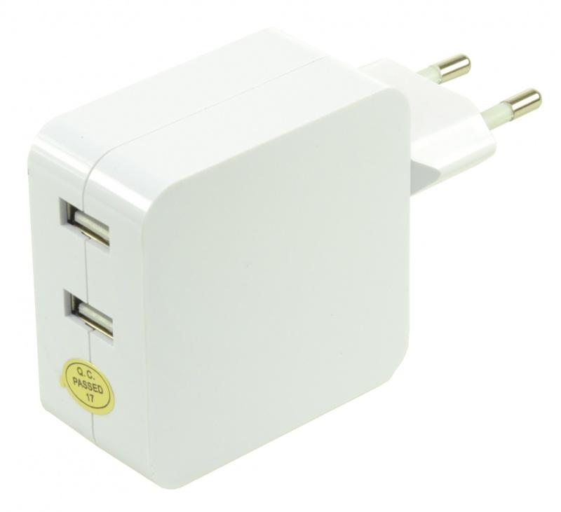 Adaptor Conector Dublu USB 4.2A