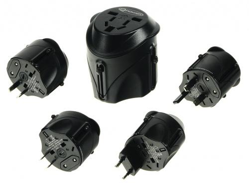 Adaptor Conector pentru utilizare in UK, EU, US si AU/NZ