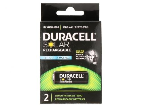 Pachet 2 Baterii Duracell cu Alimentare Solara