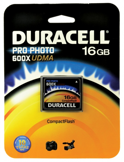 Memorie Compact Flash Duracell 16GB
